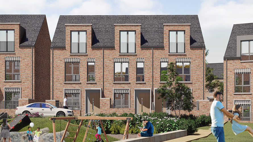 Artistic impression Romney House development